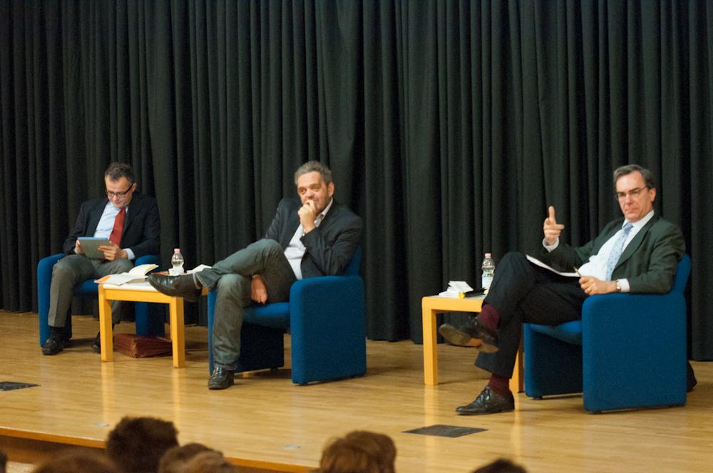 Festival Costituzione 2013 – Paolo Giangaspero, Ludovico Mazzarolli, Dimitri Girotto