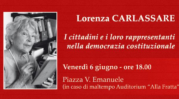 Lorenza Carlassare