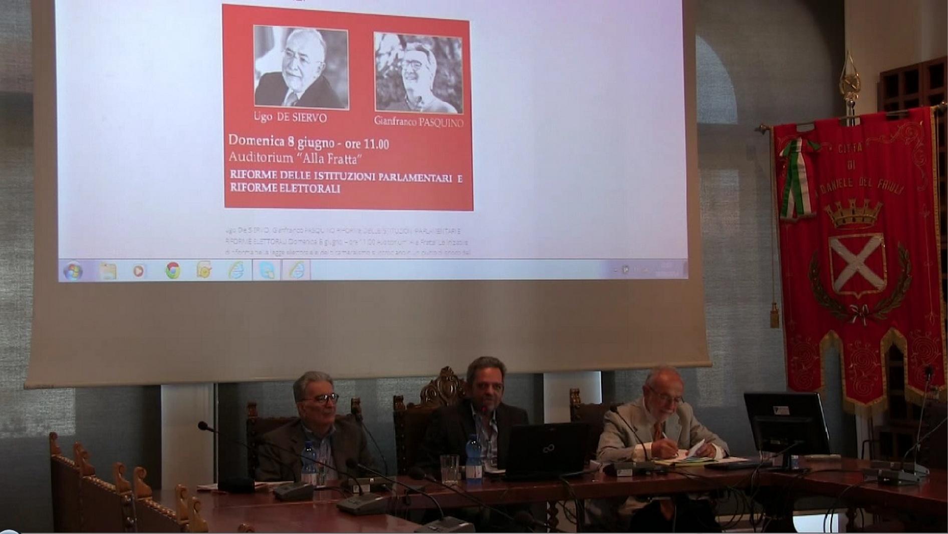 Festival Costituzione 2014 – Ugo De Siervo, Gianfranco Pasquino