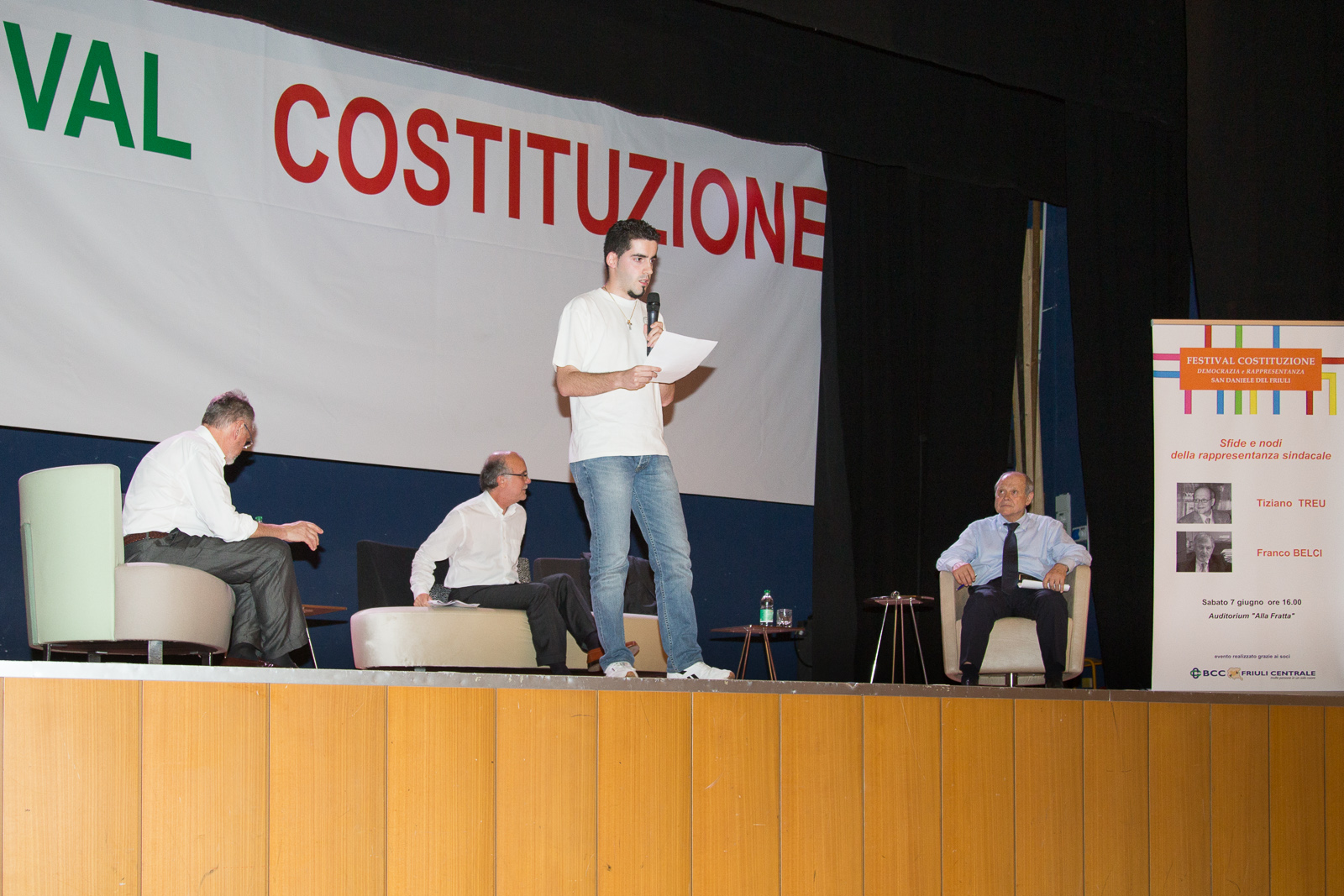 Festival Costituzione 2014 – Tiziano Treu e Franco Belci