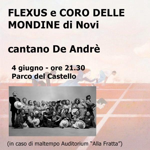 Flexus e Coro Mondine