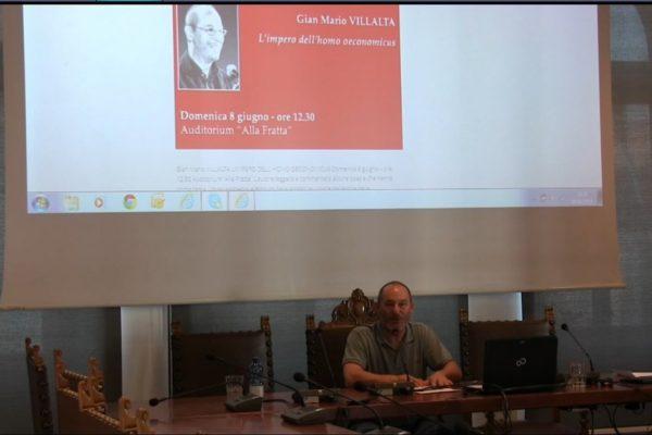 Festival Costituzione 2014 – Gian Mario Villalta